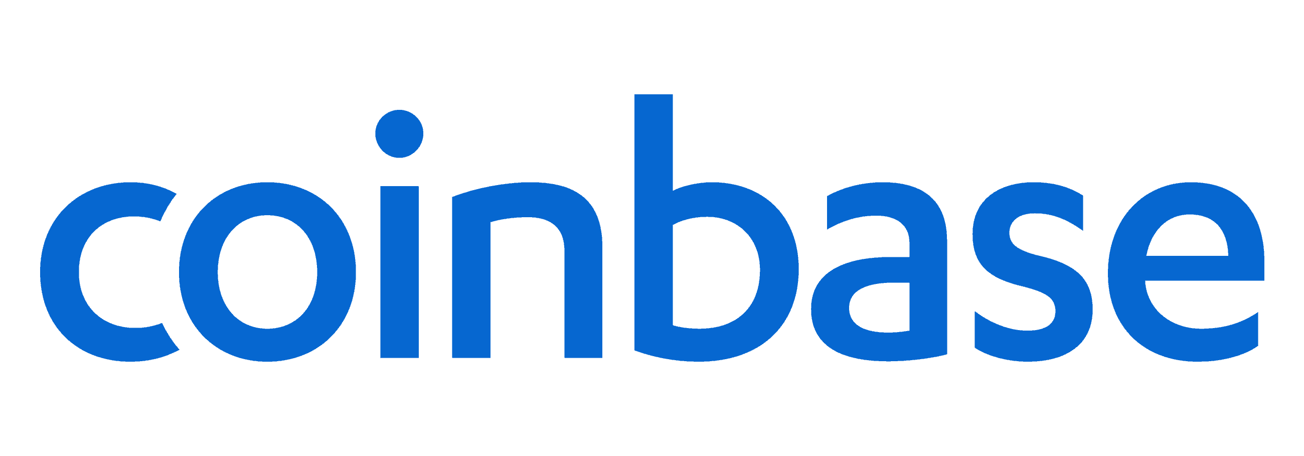 coinbase logo in blue